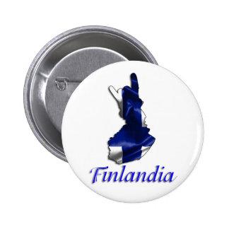 finlandia 6 cm round badge
