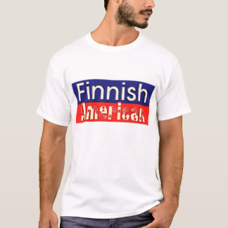 Finnish American  (Finn-American t-shirt) T-Shirt