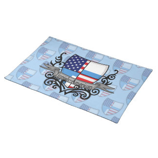 Finnish-American Shield Flag Place Mat