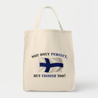 Finnish and Perfect Tote Bags