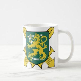 Finnish Army Basic White Mug