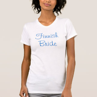 Finnish Bride Tanktops