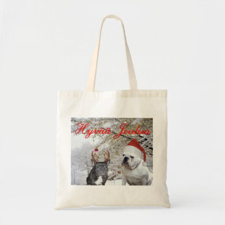 Finnish Bulldog Christmas 2 Budget Tote Bag
