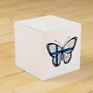 Finnish Butterfly Flag Favor Box
