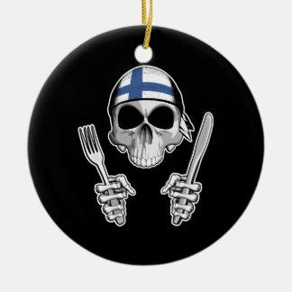 Finnish Chef 4 Christmas Tree Ornaments