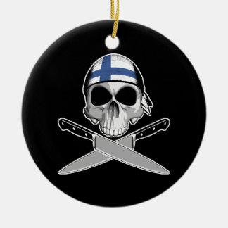Finnish Chef Christmas Tree Ornament