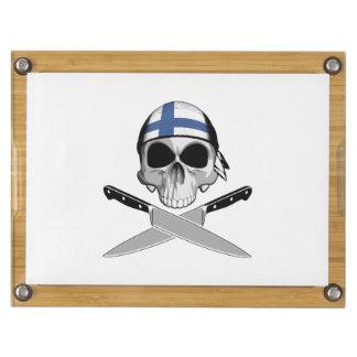 Finnish Chef Rectangular Cheese Board