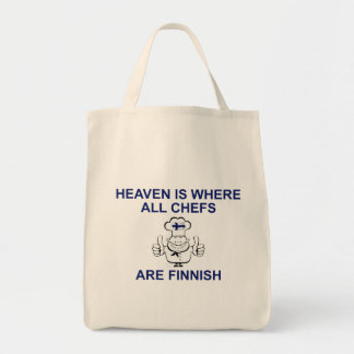 Finnish Chefs Canvas Bags