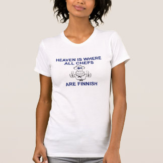 Finnish Chefs T Shirts