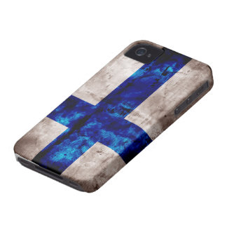 Finnish Flag Case-Mate iPhone 4 Case