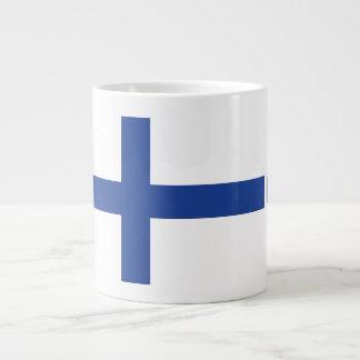 Finnish Flag custom mugs Jumbo Mug