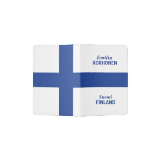 Finnish Flag custom passport cover