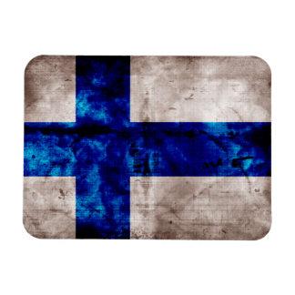 Finnish Flag Rectangle Magnets