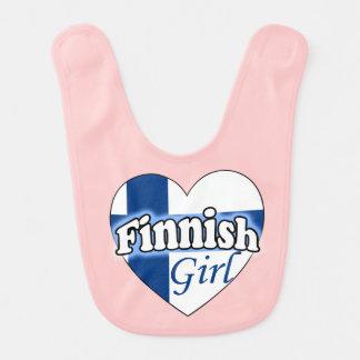 Finnish Girl Baby Bib