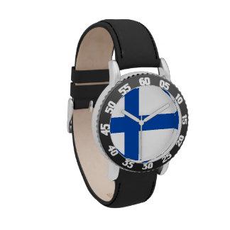 Finnish Kid's Watch - Suomen Lippu Kello