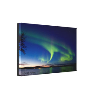 Finnish, Lapland - Premium Wrapped Canvas (Gloss) Gallery Wrap Canvas