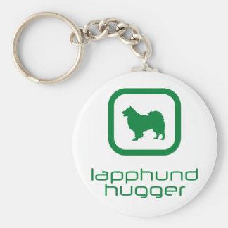 Finnish Lapphund Basic Round Button Key Ring