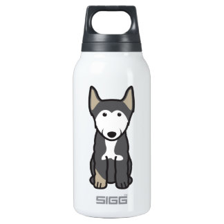 Finnish Lapphund Dog Cartoon Insulated Water Bottle