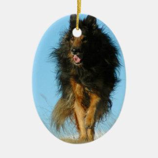 Finnish Lapphund Dog Ornament