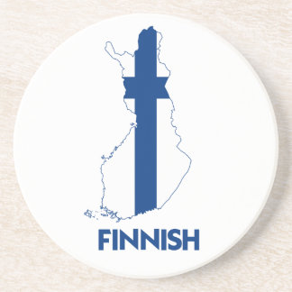 FINNISH MAP DRINK COASTERS
