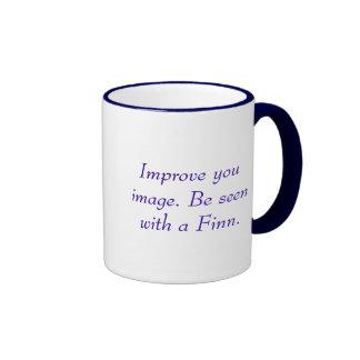 Finnish Pride! Ringer Mug