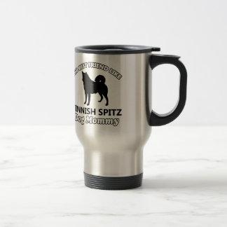 Finnish Spitz. dog designs Stainless Steel Travel Mug
