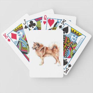 Finnish Spitz Dog Playing Cards
