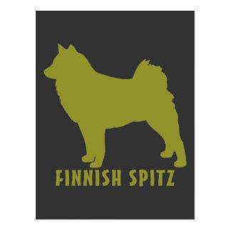 Finnish Spitz Postcard