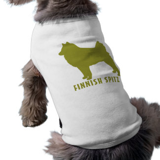 Finnish Spitz Sleeveless Dog Shirt