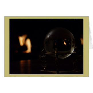 Fire and Ball Greeting Card