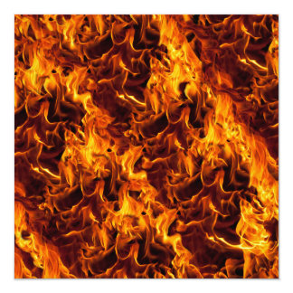 Fire and Flame Pattern Card