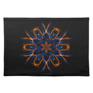 Fire and Ice Fractal Placemat