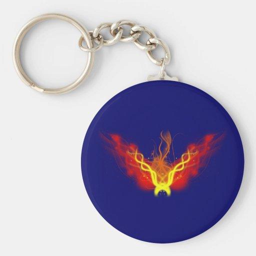 Fire ball fire ball keychains