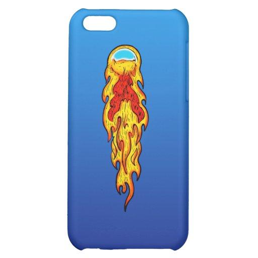 Fire ball pinball iPhone 5C case