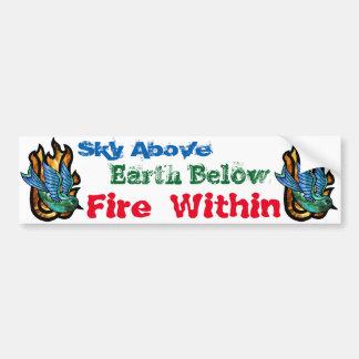 Fire Bird Bumper Sticker