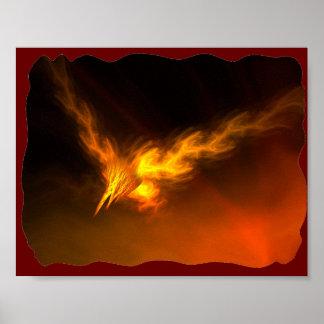 Fire bird Poster