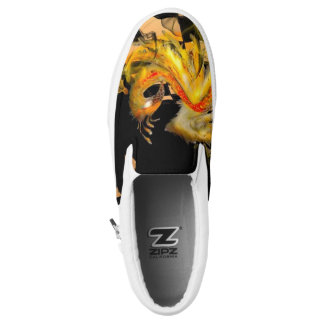 Fire Bird Printed Shoes