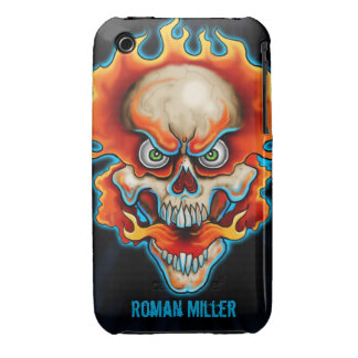 Fire Breather iPhone 3 Cover