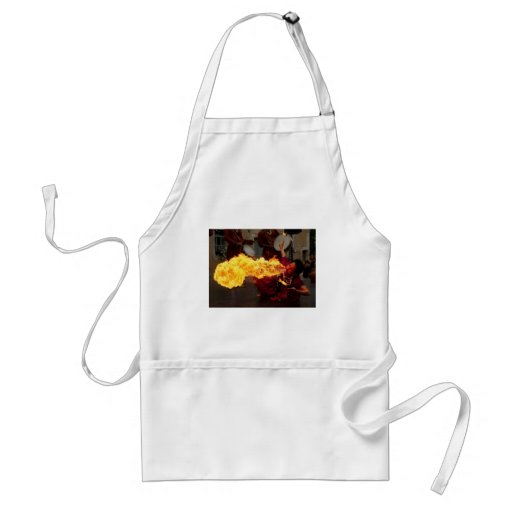 Fire Breathing Aprons