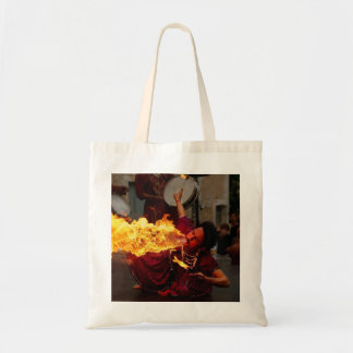 Fire Breathing Tote Bag