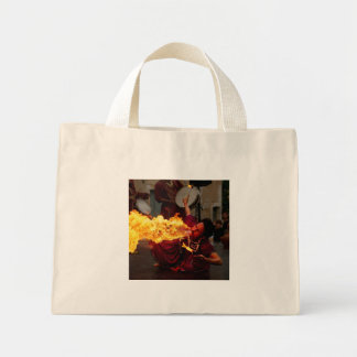 Fire Breathing Canvas Bags