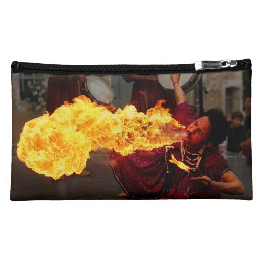 Fire Breathing Makeup Bags