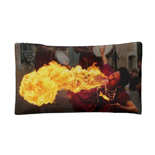 Fire Breathing Makeup Bag