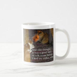 Fire Breathing Cat  Mug