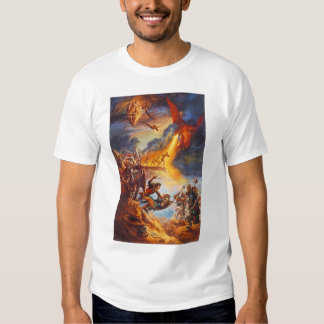 Fire breathing death from above, Dragon style Tee Shirt