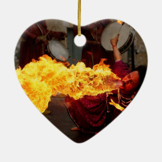 Fire Breathing Christmas Ornament