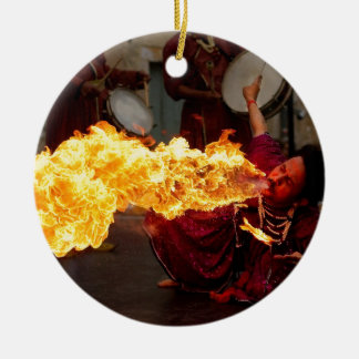 Fire Breathing Christmas Tree Ornament