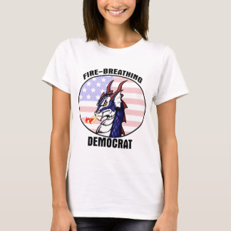 Fire Breathing Democrat Shirt - nowords