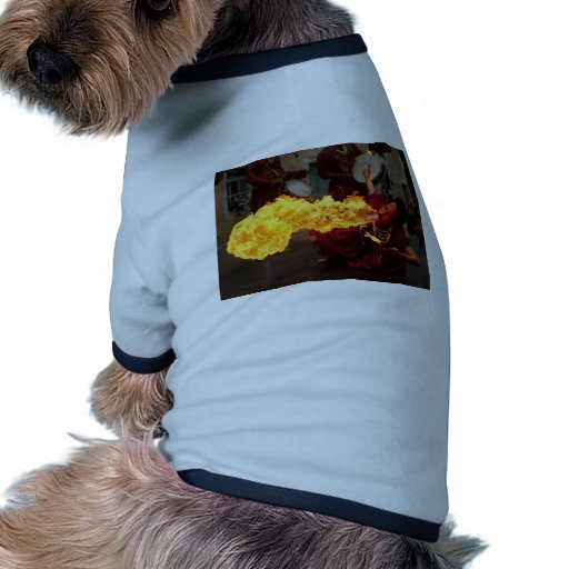 Fire Breathing Dog Tee Shirt