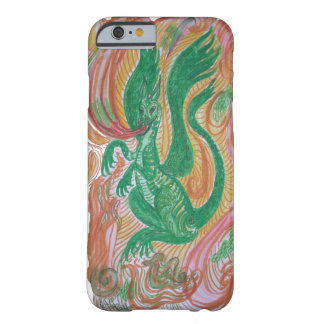 Fire breathing dragon, abstract. barely there iPhone 6 case